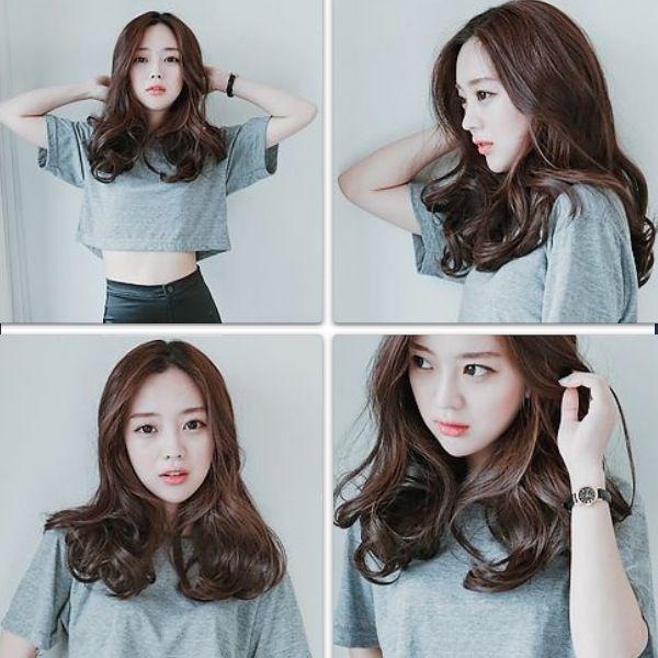 hair cute girl