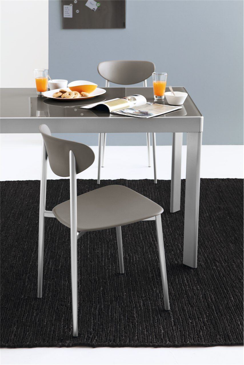 Connubia Calligaris | Graffiti Dining Chair | Matching Bar Stool Available.