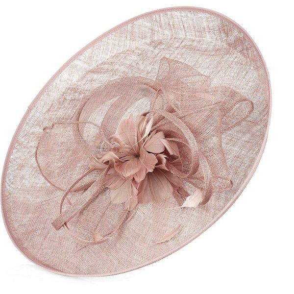 Nigel Rayment Buntal Bow Disc Hat ($325) ❤ liked on Polyvore featuring accessories, hats, fascinator, nigel rayment, feather hat, bow hat, nigel rayment hats and hair fascinators