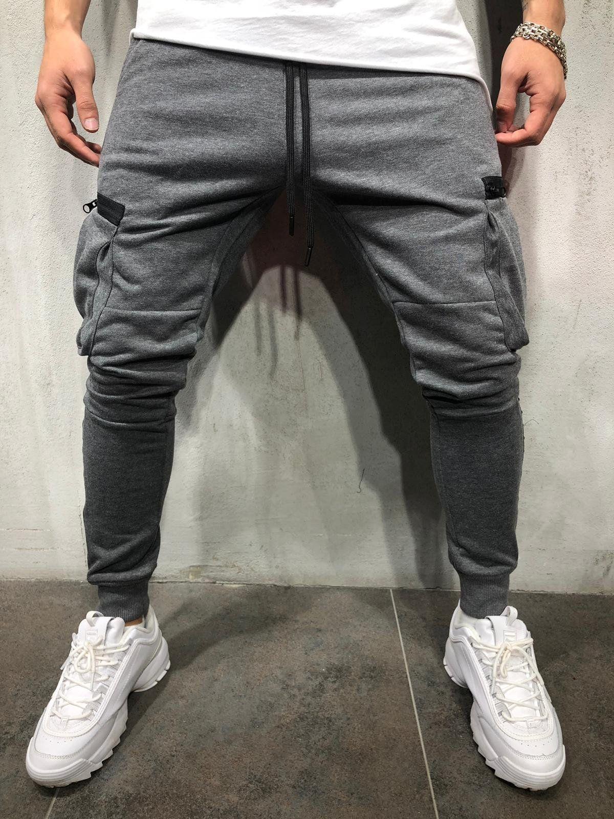 dcc2bb7d26 Cargo Jogger Sweatpants - Dark Gray in 2019 | Joggers | Fashion ...