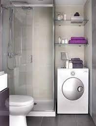 Risultati immagini per bagno lungo e stretto con lavatrice | home ...