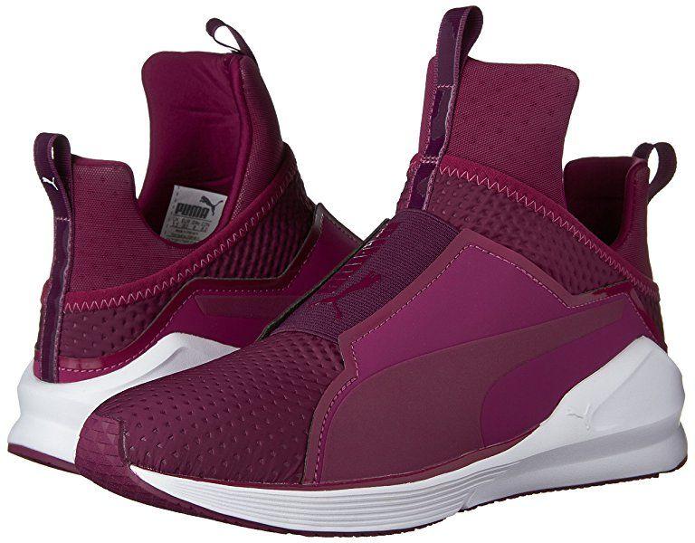 c5eab062 Amazon.com | PUMA Women's Fierce Quilted Cross-Trainer Shoe, Quarry ...