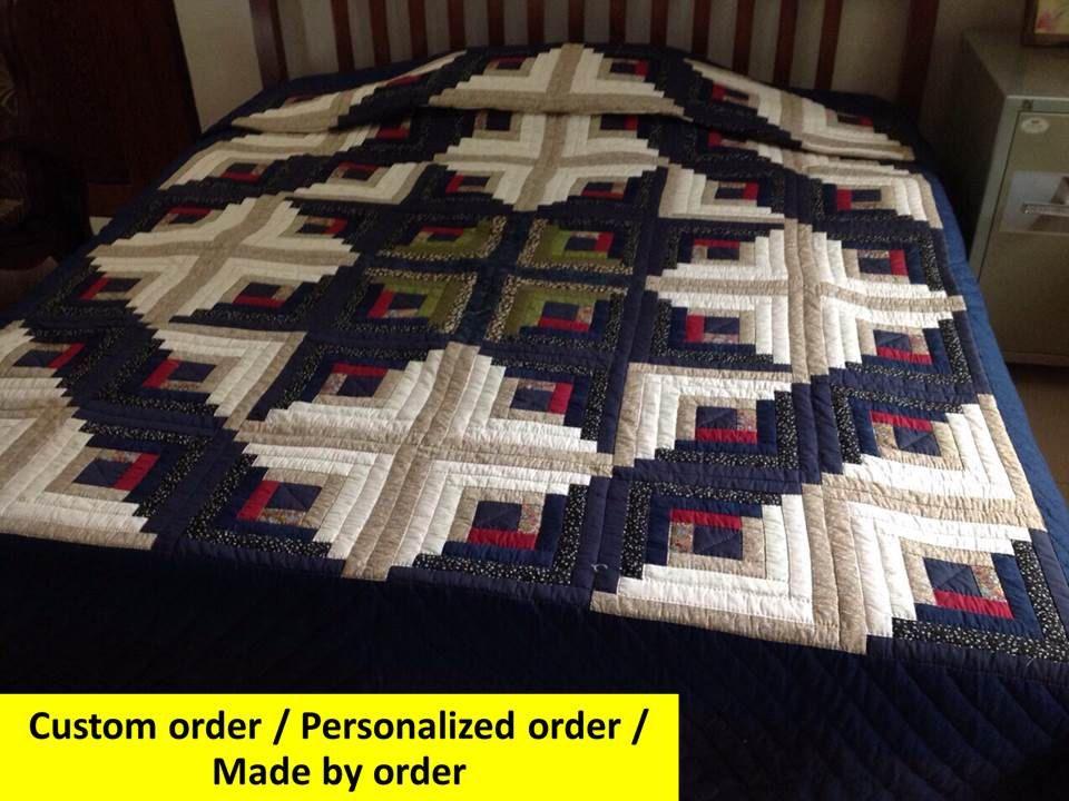 King Size quilt, Queen Size, Quilted Bedspread, Duvet, Blankets ... : handmade quilt sizes - Adamdwight.com