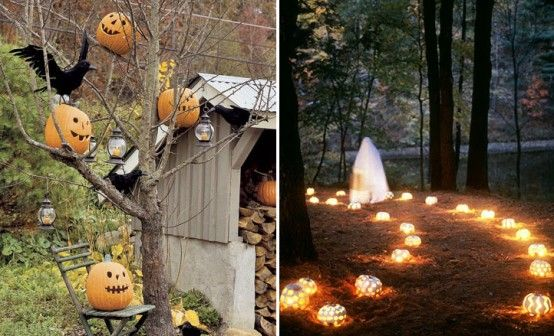 Unique Outdoor Hallowen Decorating Ideas With Images Halloween