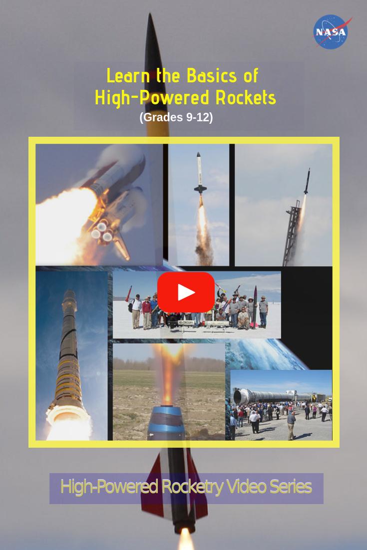 High-Powered Rocketry Video Series | NASA STEM (formerly ...