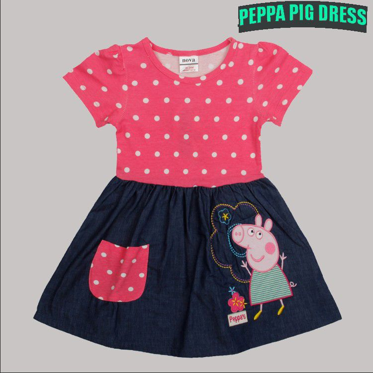 Peppa Pig girl Dress Kid Clothing Children's Wear NOVA ...