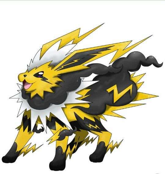 Mega jolteon  pokemon  Pinterest  Pokmon