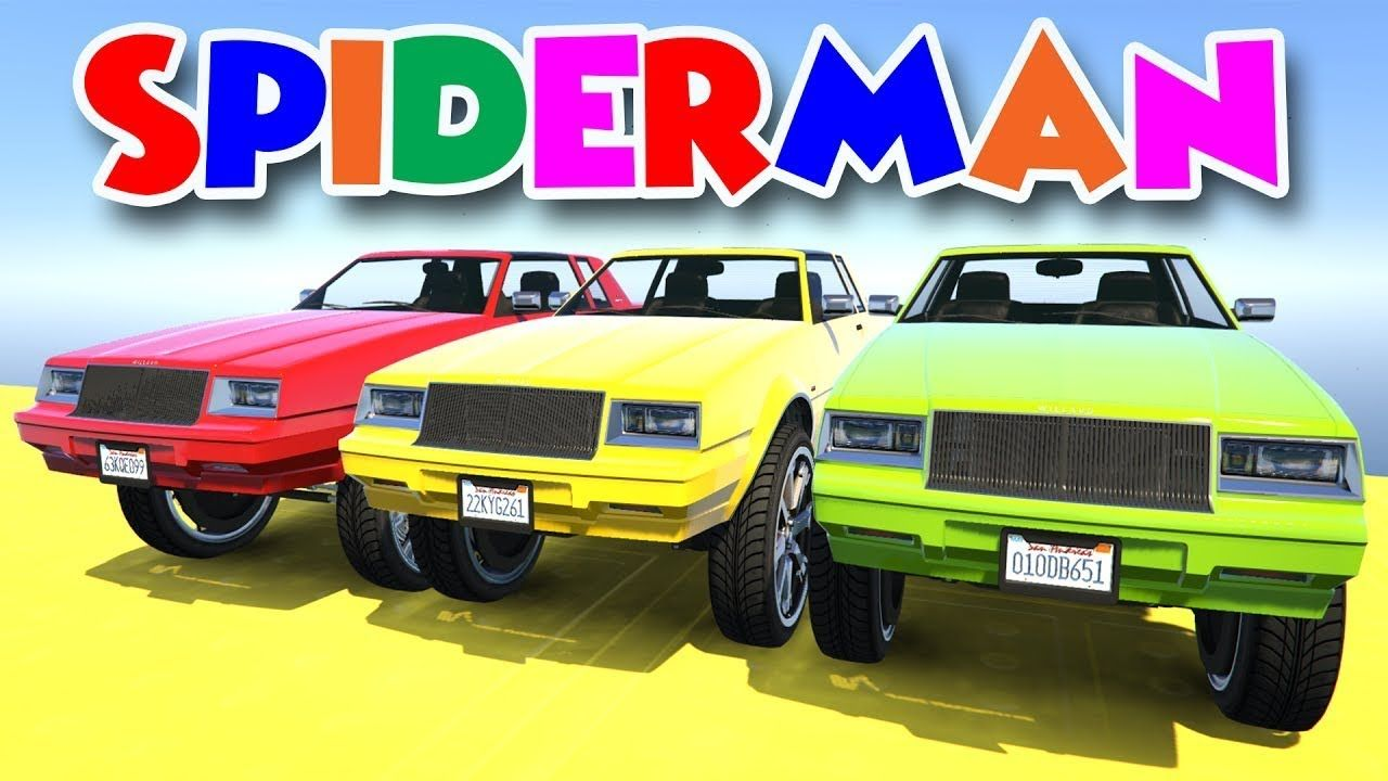 Learn Colors Big Bus Extreme Jump W Spiderman Cartoon Superheroes Animation For Kids Https Youtu Be Bv3kddq1rpo Thanks For Watching My Video If You Enjoy T