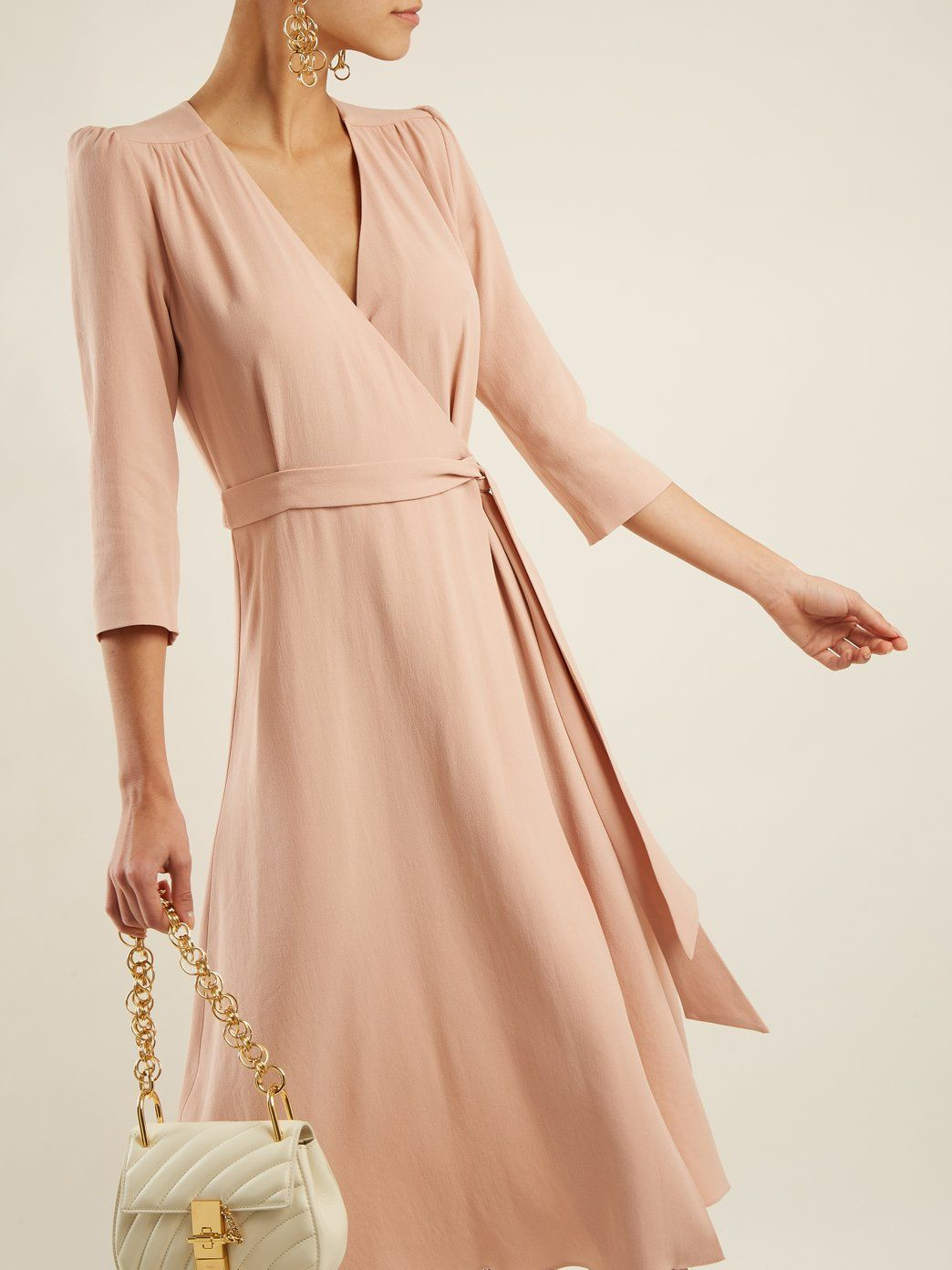 Glenda Cady Wrap Dress Goat Matchesfashion Com Wrap Dress Dresses Fashion [ 1392 x 1044 Pixel ]