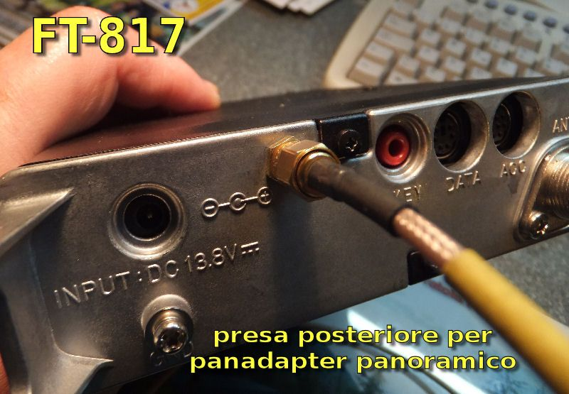 Lage der Elektret Kapsel Yaesu FT817nd t Hams