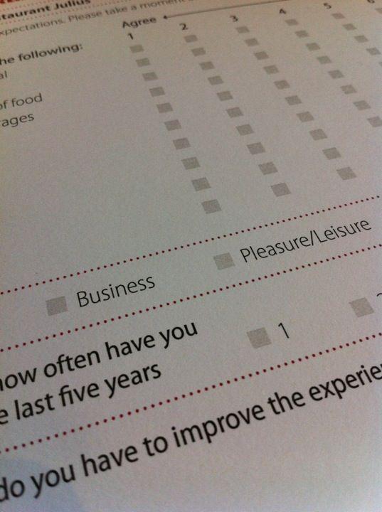 Guest Survey