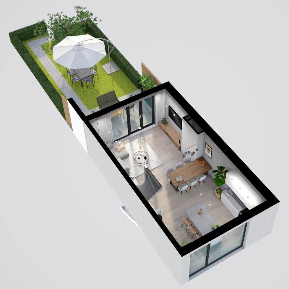 3d Render Made With Floorplanner Com Floor Plans Create Floor Plan Office Space