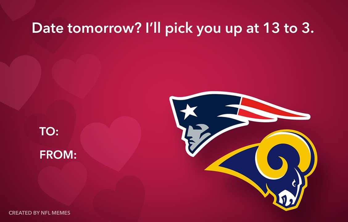 Valentines Day 2 14 19 Nfl Memes Memes Patriots Football