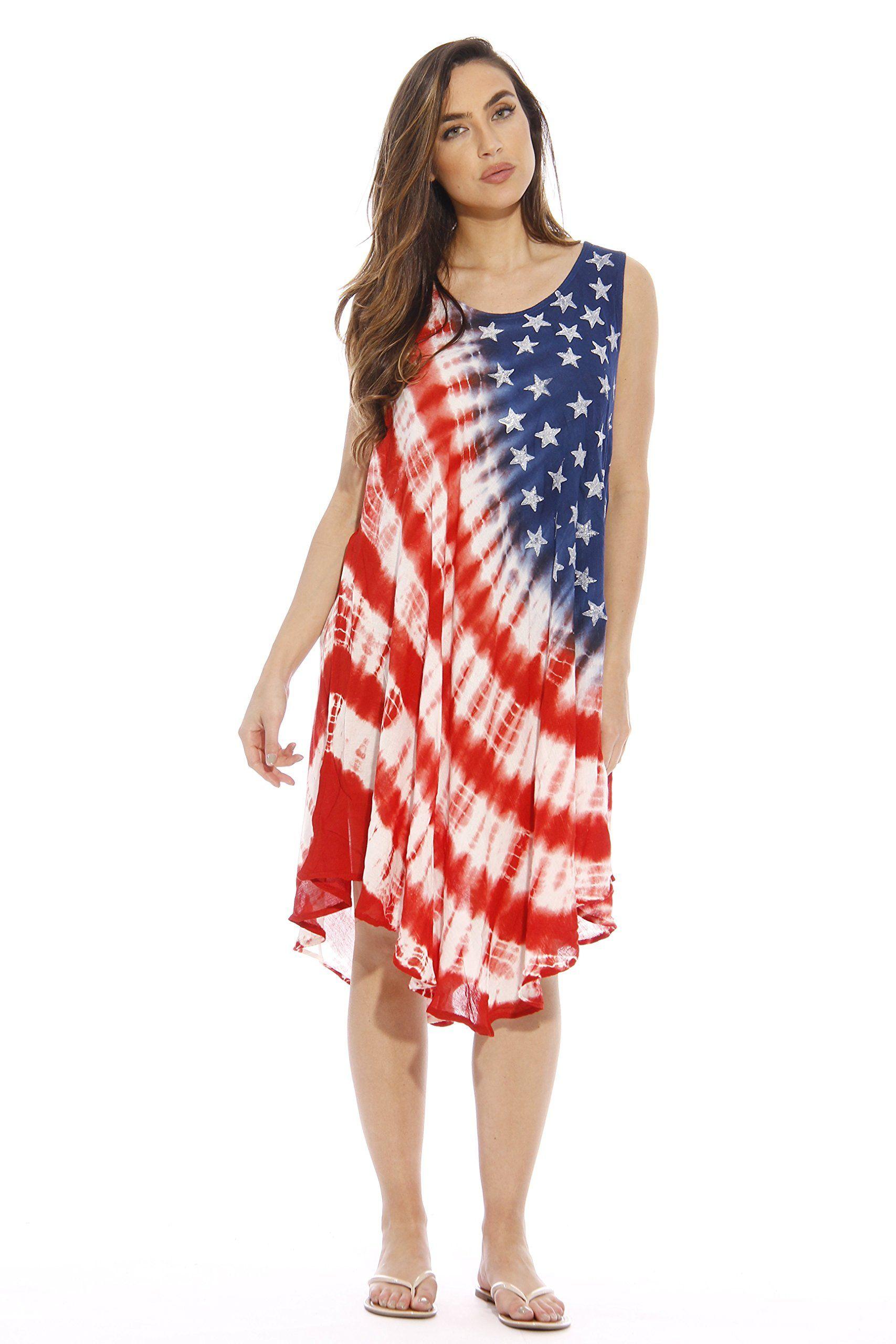 Riviera Sun American Flag Dress / Summer Dresses / Swimsuit ...