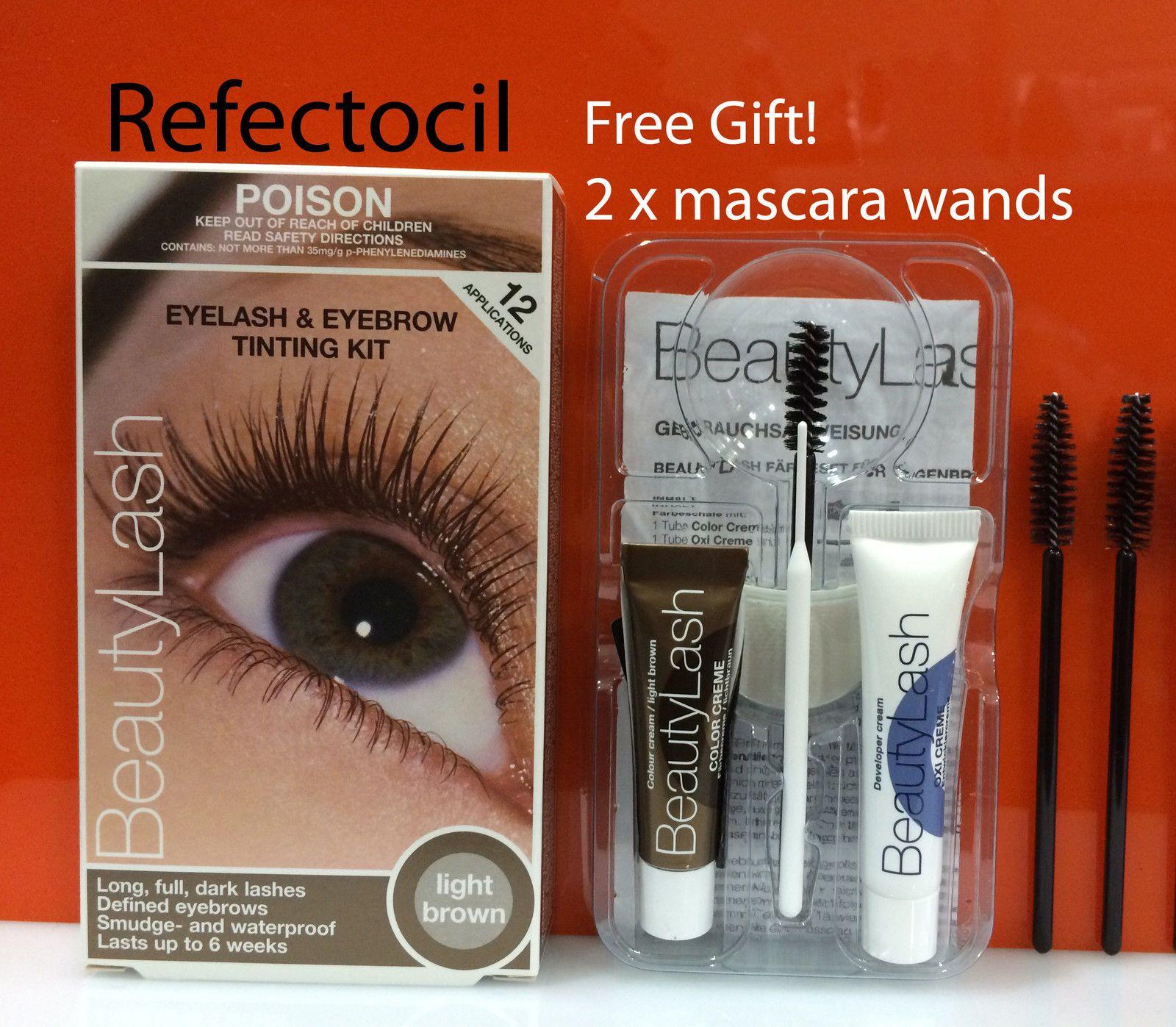 Refectocil Beautylash Eyelash Eyebrow Tint Kit Light Brown No