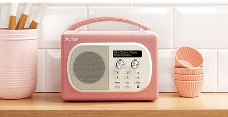 Evoke Mio Digital Radio Pure Kitchen Radio Radio Portable Dab Radio
