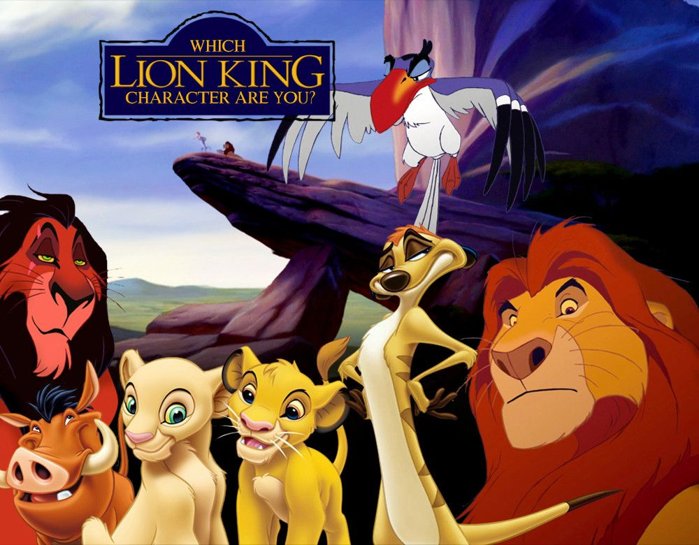 which  u0026 39 lion king u0026 39  character are you