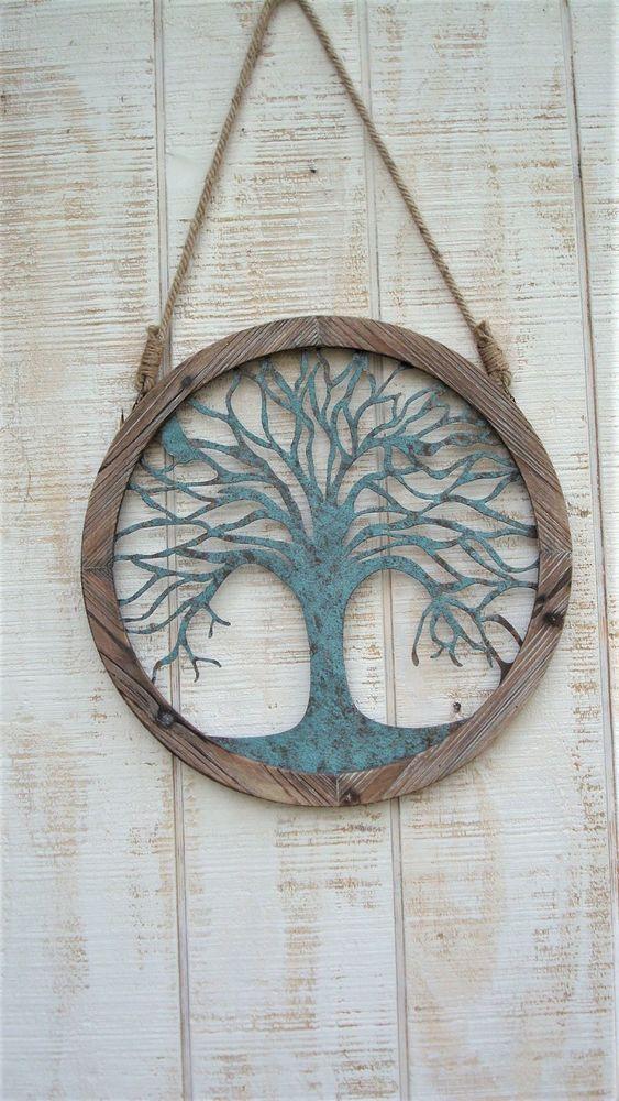 TREE OF LIFE Wall Art/Metal Wall Art/Metal Wall Decor/ Metal Tree ...