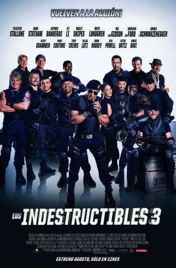 Los Indestructibles 3 Los Mercenarios 3 2014 Fondos Xd In