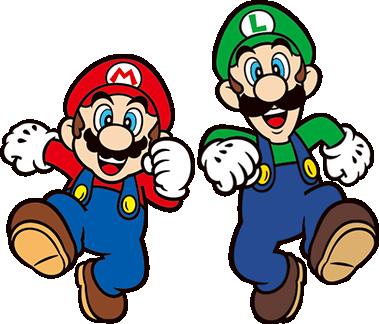 Mario and Luigi 2D render by Banjo2015 deviantart com on