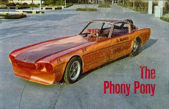 Vintage Drag Racing - The Phony Pony