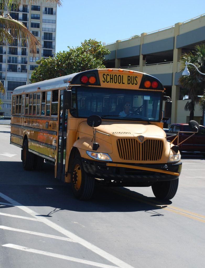 IC CE In Need Of Repair. Florida Bus