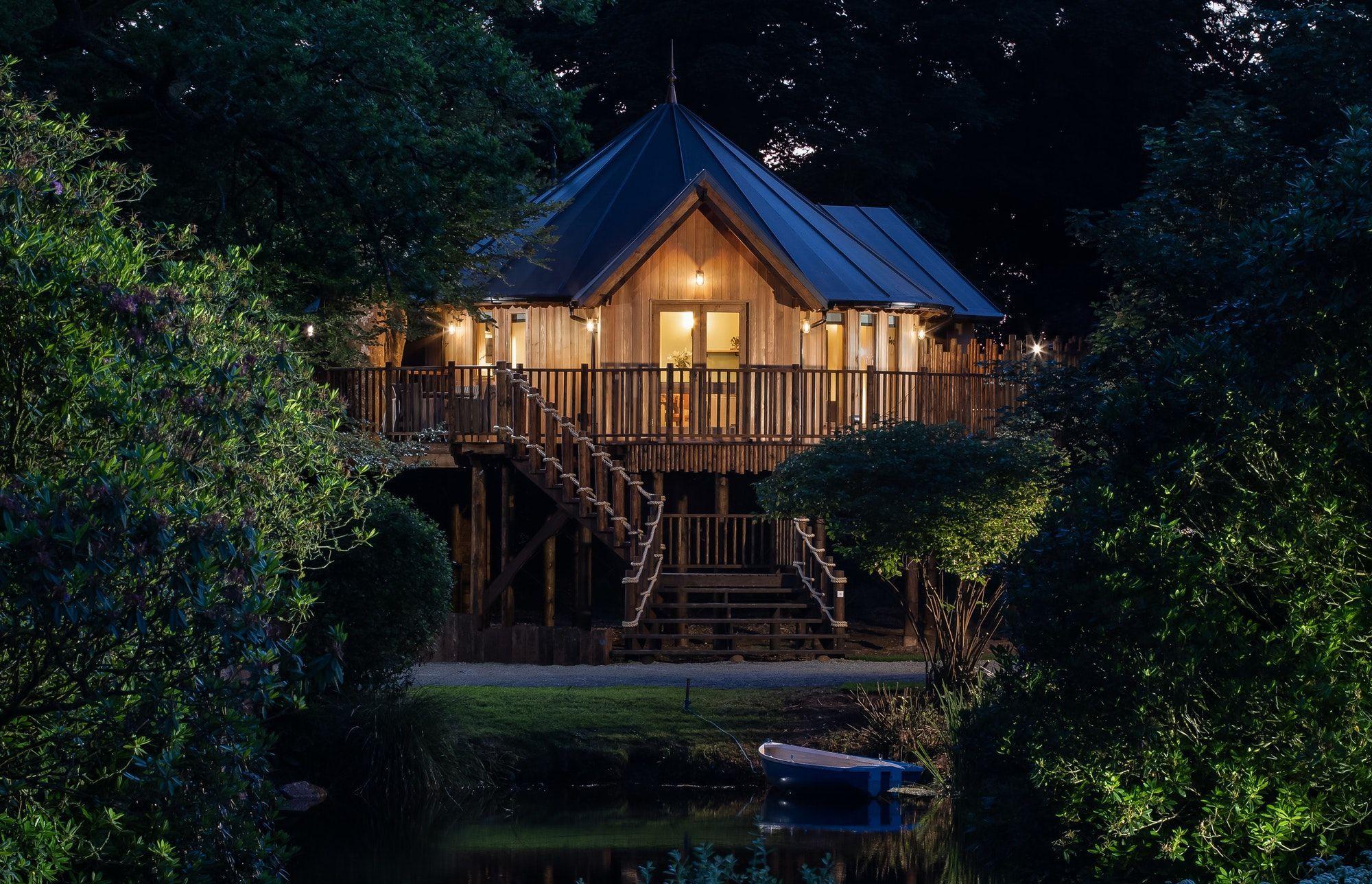 May Half Term Availability Log Cabin Holidays Treehouse Hotel