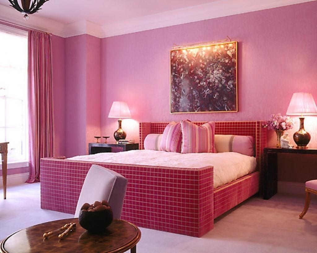 احدث الوان غرف نوم مودرن 2019 Modern Bedrooms 2020 Bedroom Decor For Couples Pink Bedroom Design Monochromatic Room