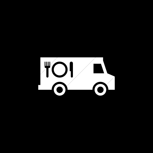 Alfa Img Showing Black And White Food Truck Food Truck White Food Black And White