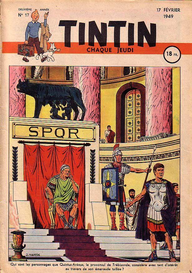 Journal de TINTIN édition Française N° 17 du 17 Février 1949