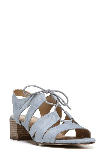 47b9bb73de7 Free shipping and returns on Naturalizer Felicity Sandal (Women) at  Nordstrom.com. A stacked block heel grounds an easy-chic ghillie sandal  built for ...