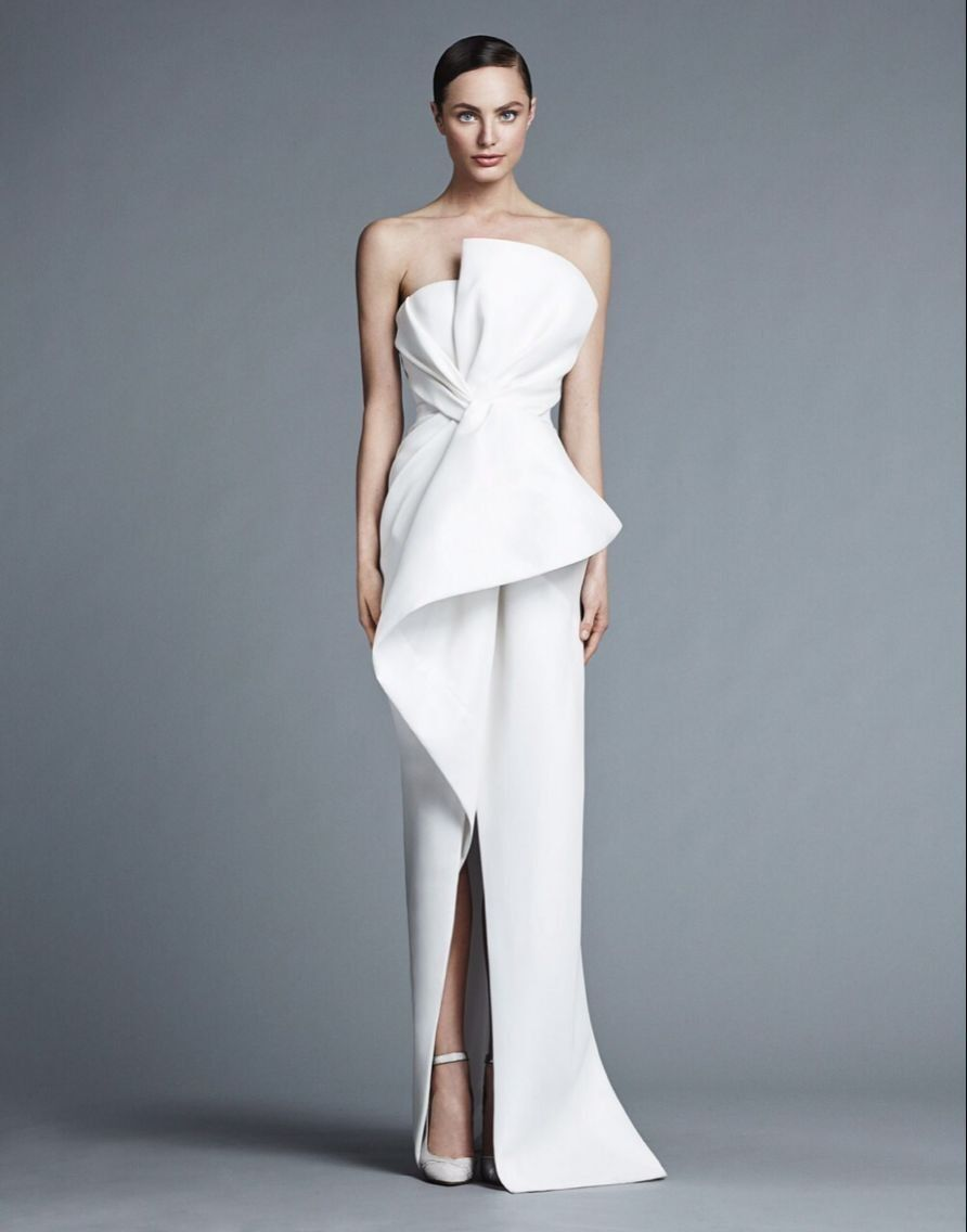 Saudi Arabia Dubai Middle East Formal Dresses Sexy Strapless Sheath ...