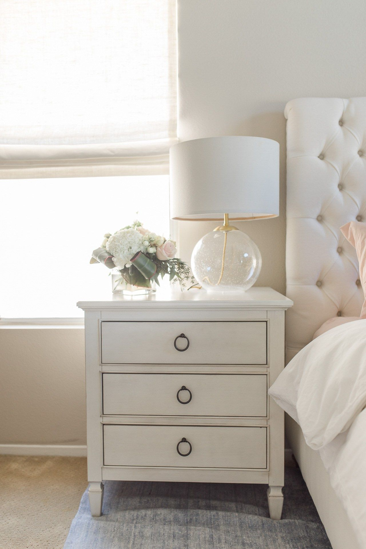 Bedside Table With Images Bedside Table Decor Side Tables