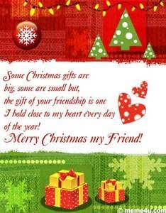 Friendship Christmas Greeting For Friend Christmas Ecard Fo Merry Christmas Wishes Friends Merry Christmas Quotes Friends Christmas Greetings For Friends