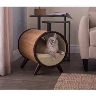 Studio Designs Paws And Purrs Tubular Pet Bed | Overstock.com Shopping    The Best Deals On Cat Beds