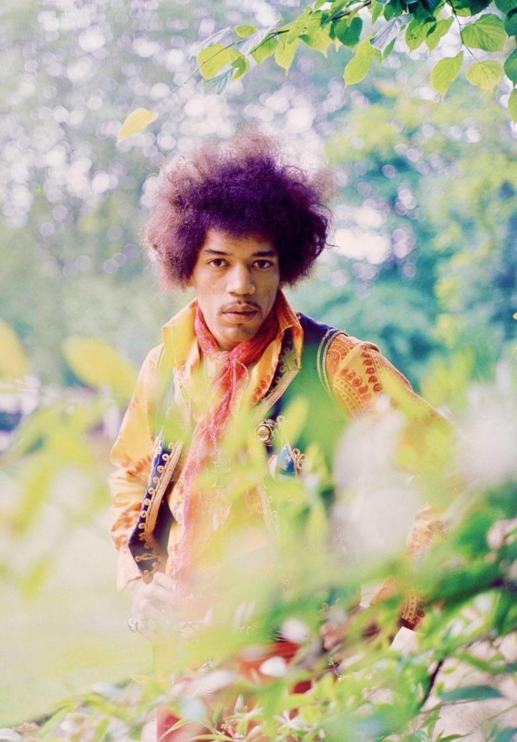 Jimi Hendrix (Sagittarius) - Greatest guitar player of all time! Innocent and sexual at the same time.