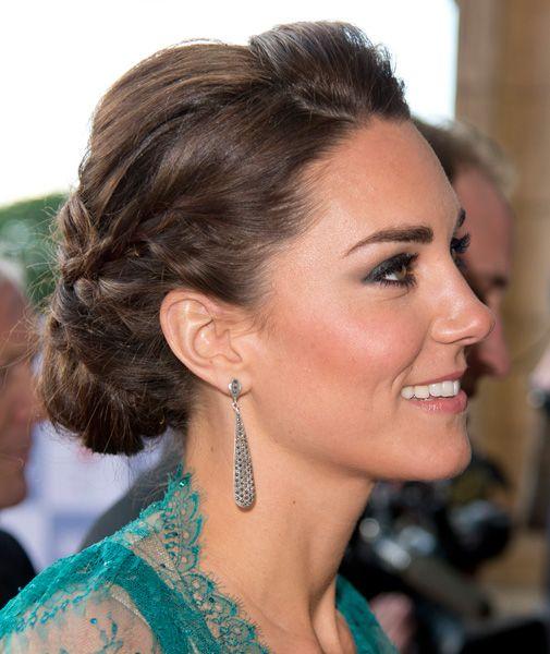 Peinados recogidos kate middleton