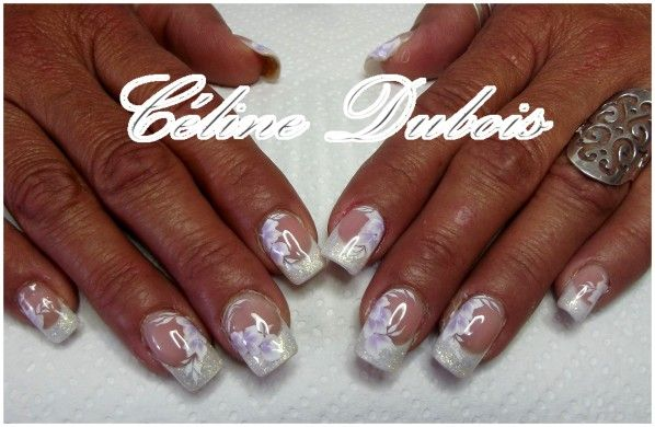 deco ongles gel mariage