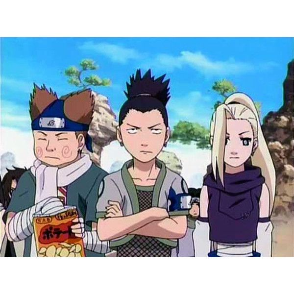 Team 10 ❤ liked on Polyvore featuring naruto