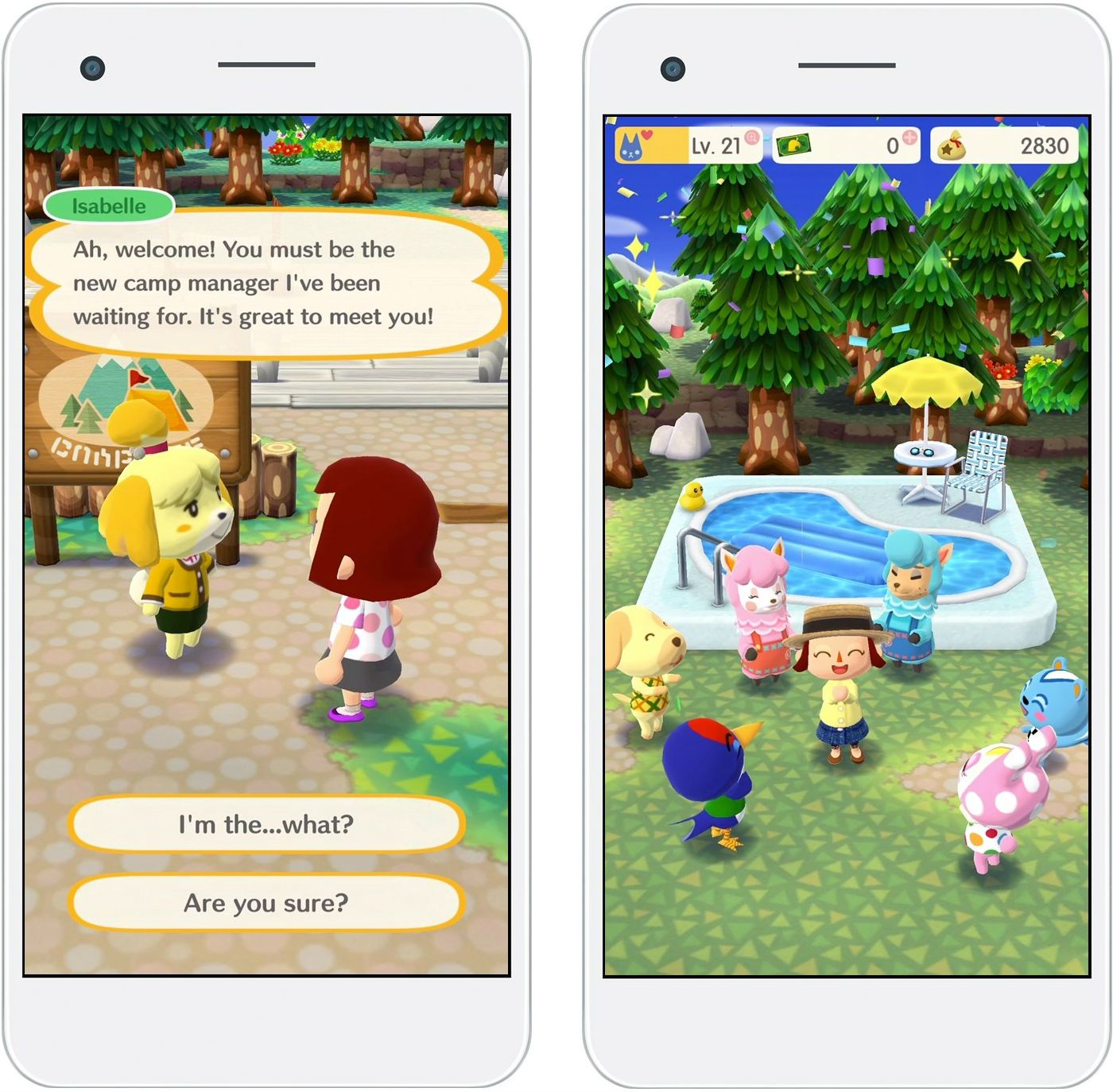 Animal Crossing Pocket Camp komt eind november naar smart