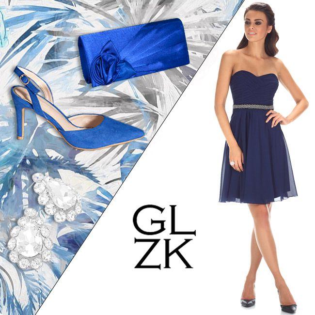 Blue is the new black, overal mee te combineren, elegant en klassiek nu nieuw in onze winkel. www.degalazaak.nl