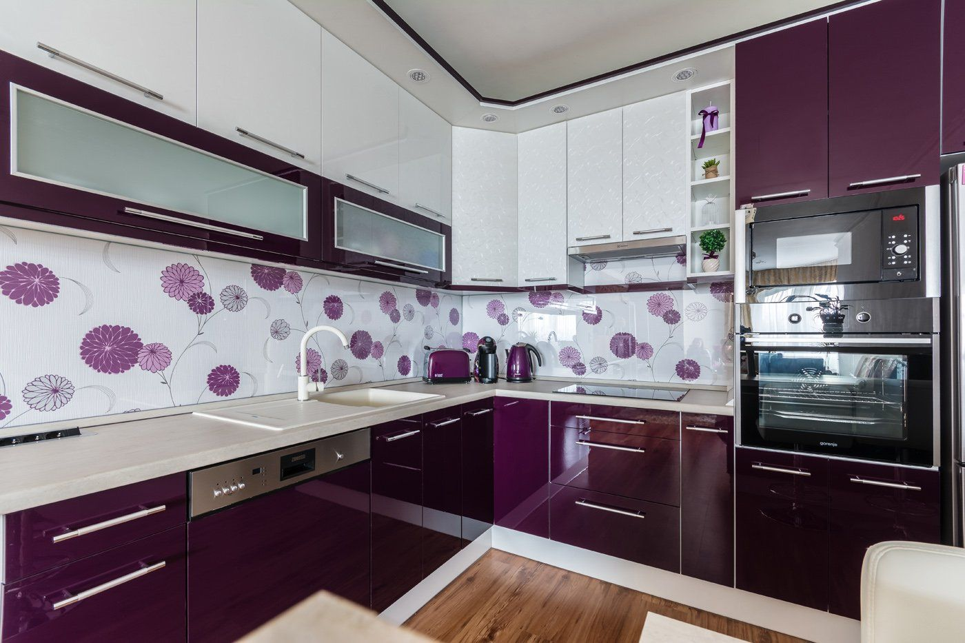 Lila Alomkonyha Tervezz Konyhat Magadnak Kitchen Room Design Kitchen Furniture Design Simple Kitchen Design