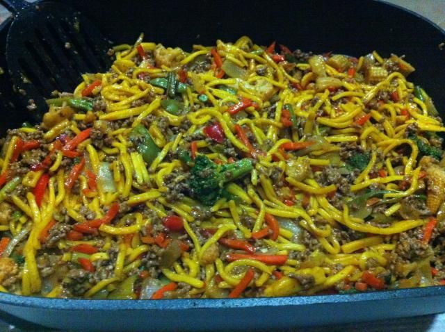 Mince and noodle stir fry recipe stir fry food ideas and tasty a quick and tasty stir fry adapted from a super food ideas magazine recipe complete forumfinder Choice Image