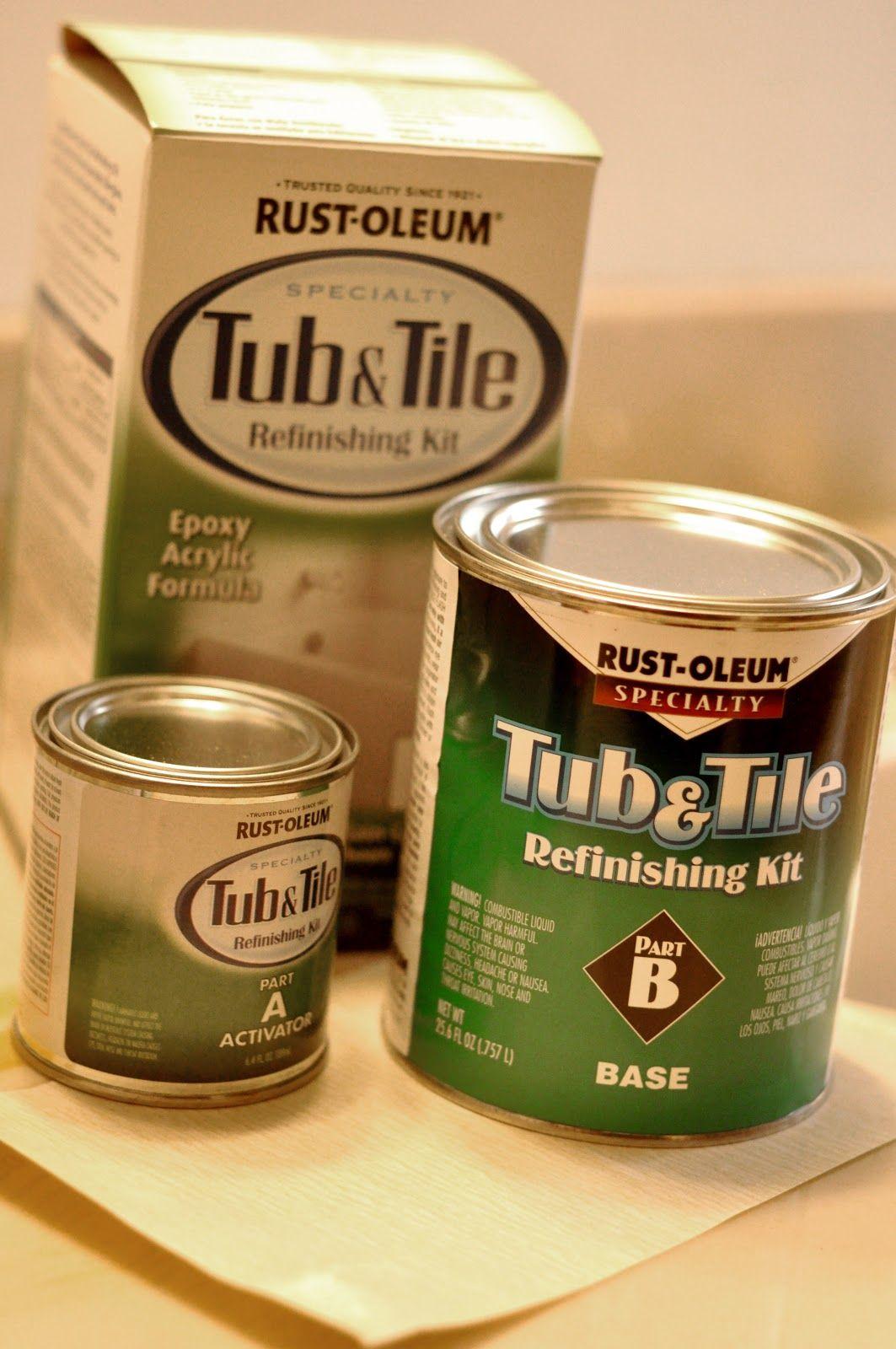 Raising Hope: {DIY: Rust-Oleum Tub and Tile Refinishing Kit ...