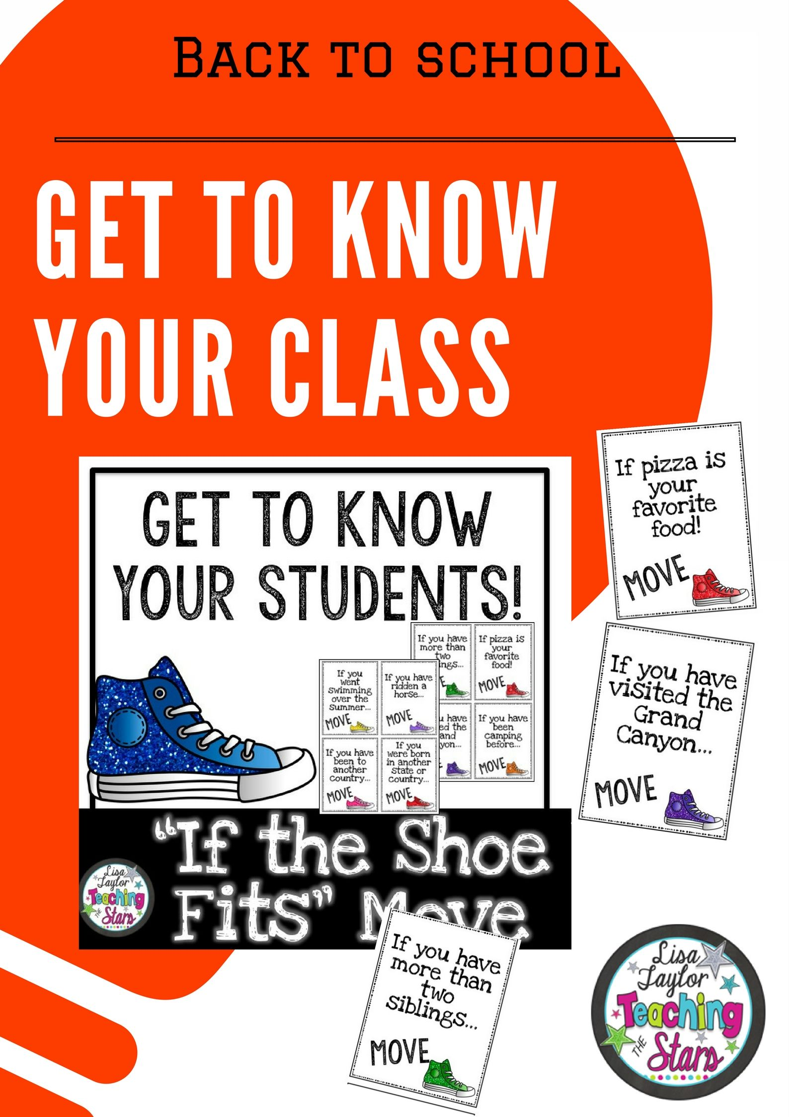 Back To School Activity Get To Know Your Class