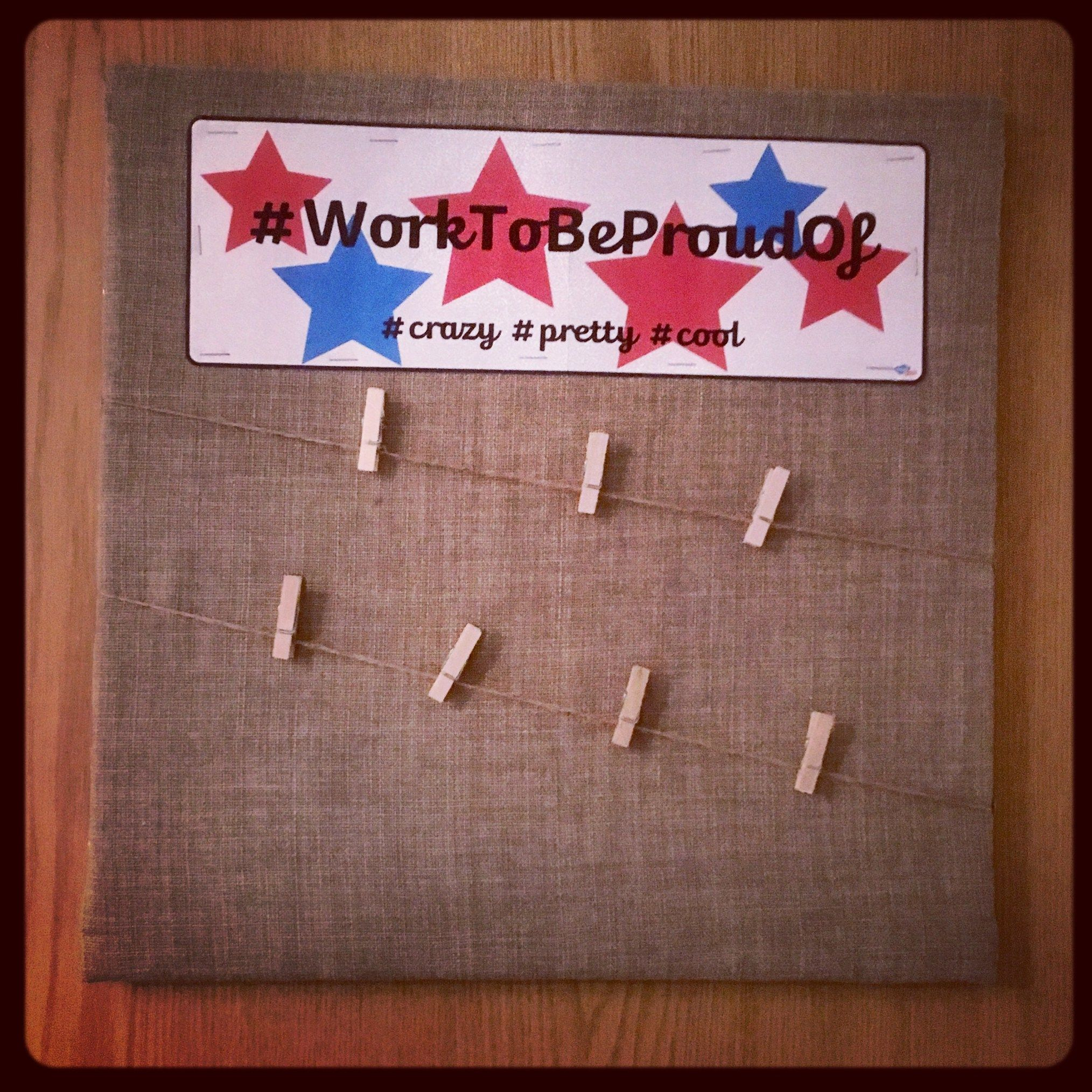 Bulletin Board For Small Space Homeschooling