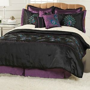 Highgate Manor Enchantment 9 Piece Comforter Set At Hsn Com Peacock Decor Bedroom Comforter Sets Comforters