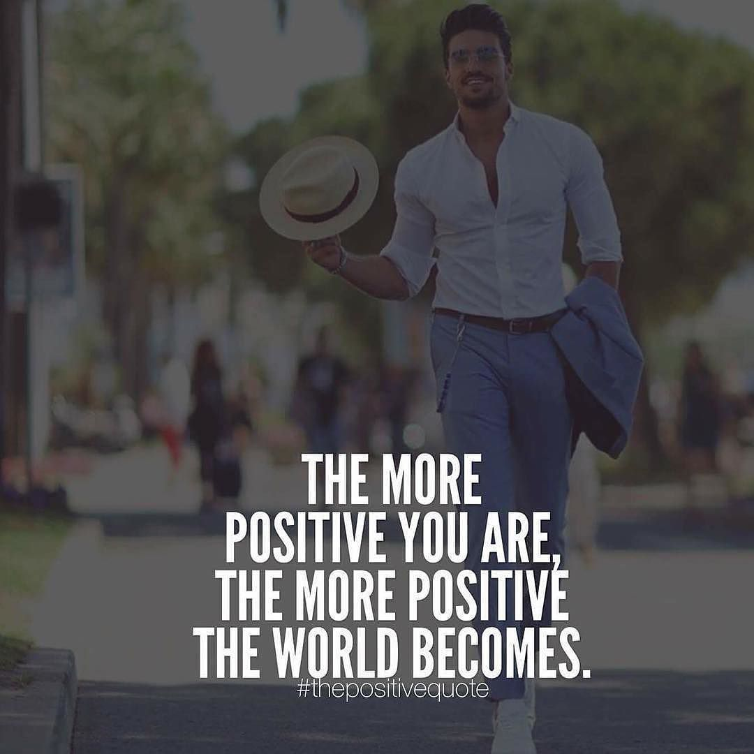 Positivity is the key my friends! Double tap and tag someone!