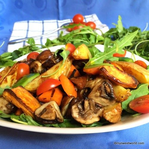 Sweetys World: Warmer Backkartoffel-Salat