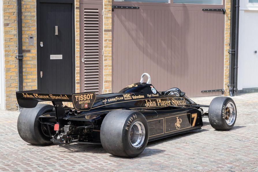 For Sale 1982 Lotus 91 Automobilismo